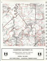 Map Image 007, Clearfield County 1973